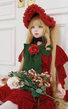 Cosplay Outfits, Cosplay Girls, Anime Cosplay, Guys And Girls, Cute Girls, Nice Dresses, Flower Girl Dresses, Korean Anime, Game Costumes