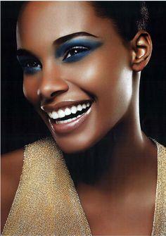 African American Beauty - make-up how to @ http://www.orientaldancer.net/belly-dance-library/beauty-for-the-belly-dancer/african-american-beauty.php