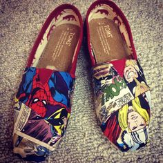 Hey, I found this really awesome Etsy listing at listing/151743119/handmade-marvel-comic-book-toms