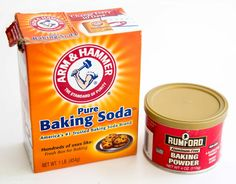 Baking soda baking powder, what's the difference? How to substitute, how to make…