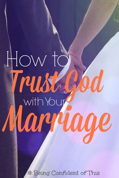 Discover how to trust God with your marriage and seek the Lord for your relationship. Let these powerful marriage tips help you surrender your relationship to God and build a better marriage. Failing Marriage, Biblical Marriage, Save My Marriage, Saving A Marriage, Marriage Relationship, Happy Marriage, Marriage Advice, Love And Marriage, Divorce