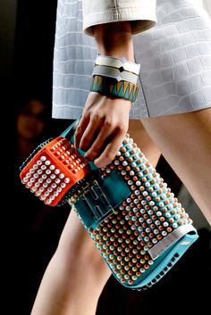bead bag - fendi - s