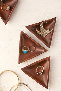 Triangle Catch-All Dish - Urban Outfitters - good idea to make in ceramic class