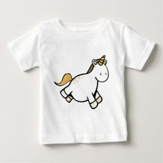 Unicorn Baby T-Shirt great for a unicorn first birthday party. If you're looking for unicorn party ideas, this unicorn shirt will complement your little girl's birthday outfit. Unicorn Birthday Decorations, Unicorn Birthday Parties, Unicorn Party, Birthday Fun, First Birthday Parties, Birthday Party Themes, First Birthdays, Little Girl Birthday, Unicorn Shirt