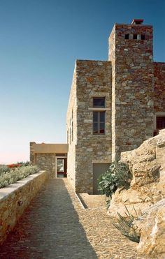 House in Syros by Myrto Miliou Architects - The Greek Foundation