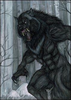 Beware of Killian by Saoirsa werewolf monster beast creature animal   Create…