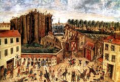 Jul Storming of Bastille, French Revolution, France (Getty Images) French Revolution, American Revolution, French Independence Day, Women's March On Versailles, Storming The Bastille, Mexican American War, Musee Carnavalet, Historia Universal, The Siege