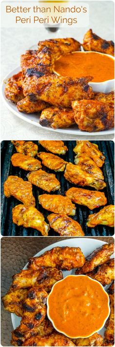 Better than Nando's Peri Peri Wings - my latest spicy, garlicy, tangy, flavourful grilled obsession. This sauce is so addictive, I just can't get enough of these wings!