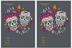 Free Dia de los Muertos Printables — Printables & Party