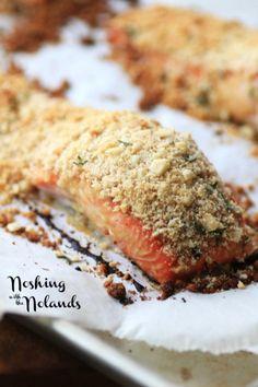 Macadamia Panko Crusted Salmon