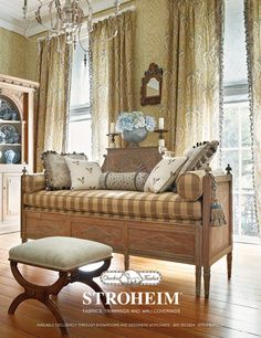 TG interiors: Charles Faudree for Stroheim