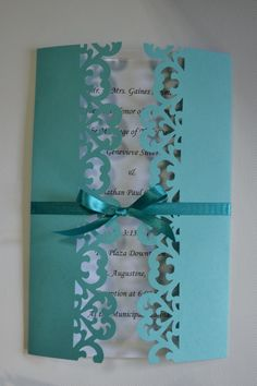 Handmade Wedding Shower Event Invitations any color by silversshop