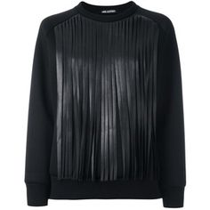 Neil Barrett fringed sweatshirt