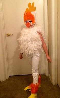 How to Make a Chicken Costume (with Pictures) - wikiHow