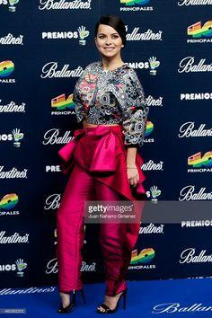 Inna attends '40 Principales Awards 2014' at Palacio de los Deportes on December 12, 2014 in Madrid, Spain.