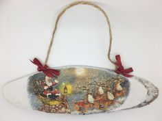 A personal favourite from my Etsy shop https://www.etsy.com/uk/listing/474243212/christmas-decorations-vintage-chic