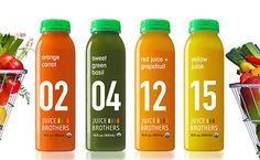 Juice Branding, Grapefruit Juice, Drink Bottles, Water Bottle, Orange, Drinks, Green, Design, Drinking