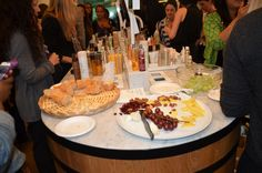 A perfectly Perisian spread at our Caudalie VIB event this past July. The wine comes from the founder's Bertrand and Mathilde Thomas' personal vineyard! #Sephora #Caudalie #VIBLIFE
