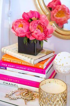 Books decor - Livros para decoração - www.izasoler.com.br