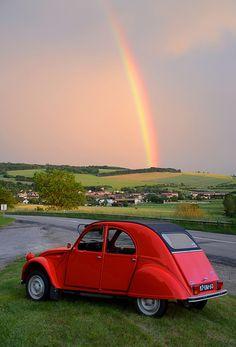 Under the rainbow..., via Flickr.