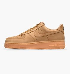 hot sale online 6637d cb372 NIKE Men s Air Force 1  07 LV8 Suede Basketball Shoe Nike Air Force Brown,