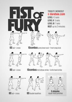 Fist of Fury Workout