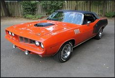 1971 Plymouth Barracuda 426 HEMI Convertible Click to Find out more - http://fastmusclecar.com/1971-plymouth-barracuda-426-hemi-convertible/ COMMENT.