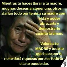A valorar a las mamitas..♥ Grandma Quotes, Mommy Quotes, Mothers Day Quotes, Love Quotes, Cute Spanish Quotes, Spanish Inspirational Quotes, Motivational Quotes, Miss You Mom, Love Dating