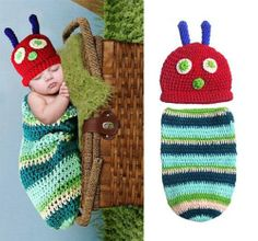 Hungry Catapillar Crochet outfit...So cute!