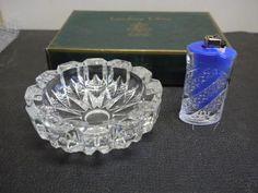 Soga ashtray and lighter set