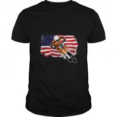 Awesome Motocross Lovers Tee Shirts Gift for you or your family member and your friend:  Moto Cross - Supercross - USA Flag T-Shirt  Tee Shirts T-Shirts