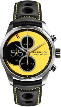 Raidillon Watch Racing Chronograph Limited Edition #add-content #bezel-fixed…
