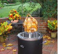 Turkey Fryer Cooker Propane Burner Oil-Less Infrared Outdoor Cooking Beef Pork #CharBroil