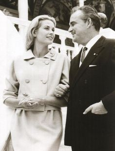 Princess Grace and Prince Rainier