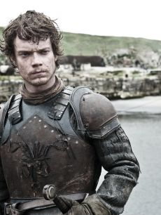 """Theon Greyjoy is technically the heir of his deceased father, Lord Balon. He became a hostage/ward to Ned Stark after the Greyjoy Rebellion at 9. Theon was close to Robb, but when sent to treat with Balon, Theon turned and seized Winterfell. He freed a prisoner named """"Reek,"""" who was actually Ramsay Bolton. Ramsay captured Theon, nicknamed him """"Reek,"""" and tortured him beyond recognition. Theon is currently Stannis' prisoner and his nickname is Theon Turncloak."""