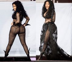 Nicki Minaj wears her raunchiest outfit yet on stage — See Pics - http://www.nollywoodfreaks.com/nicki-minaj-wears-her-raunchiest-outfit-yet-on-stage-see-pics/