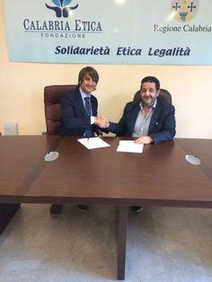 """Siglato Protocollo d'Intesa tra Calabria Etica el' Associazione """"Equipariamo Onlus"""""""