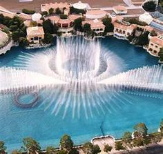 Bellagio Fountains. Beautiful!!!