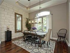 Hardwood floors, natural lighting and custom lighting 7416 Turnbuoy Dr, Austin, TX 78730