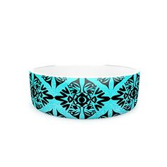 Kess InHouse Pom Graphic Design Eye Symmetry Pattern Pet Bowl 7Inch *** Want additional info? Click on the image.