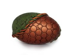 Green and Copper Dragon Egg