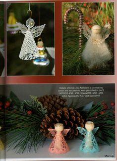 "Photo from album ""Неразобранное"" on Yandex. Bobbin Lacemaking, Book And Magazine, Views Album, Table Decorations, Christmas Ornaments, Holiday Decor, Pattern, Beautiful, Yandex"