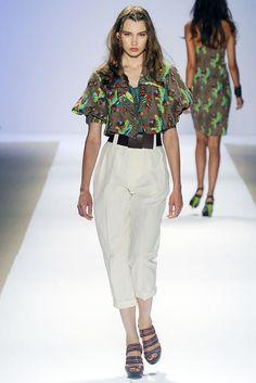 Nanette Lepore Spring 2009 Ready-to-Wear Fashion Show - Anzhela Turenko