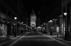 Photo Basilica by night Budapest by Joseph Borsi on 500px