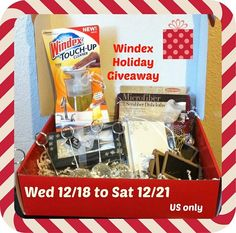 Enter to Win Windex Holiday Giveaway!