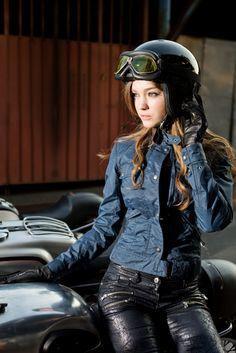 Belstaff & Caferacer In Motorbike(Magazine of Motorcycle in Korea) #belstaff # womens #sr400 #birkinsbendblouson