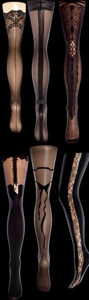 ♥ great stockings go with a great corset