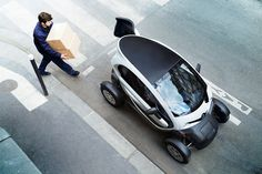 ♥ renault twizy cargo for business users