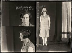 Marjorie Day alias Elma Walton, criminal record number 655LB, 13 February 1925. State Reformatory for Women, Long Bay. Marjorie Day convinced a shopkeeper to let her take two dresses home to show her mother. She promised to return promptly but instead sold the clothes at a second-hand clothing shop. A repeat offender, Day was sentenced to six months prison. Aged: 20. DOB: 11 January 1905.