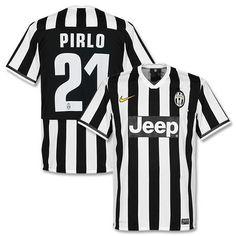 Camiseta de la Juventus 2013-2014 Local + Pirlo 21